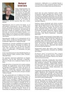 Biografía de Montserrat Torrent.