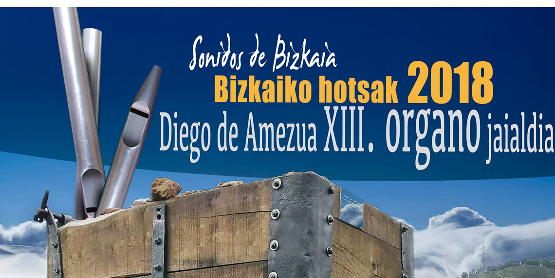 """Loriane Llorca inaugura el XIII Festival de Órgano de Bizkaia """"Bizkaiko hotsak"""""""