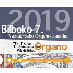 Concierto inaugural del 7º Festival Internacional de Órgano Villa de Bilbao por Jesús Martín Moro